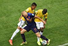 巴西 0-3 荷兰