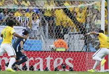 第156球:席尔瓦获世界杯处子球