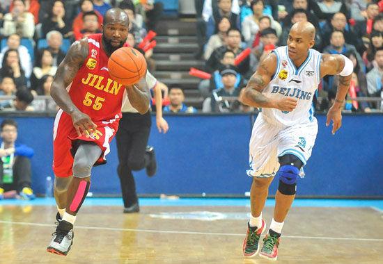 常规赛:北京VS吉林