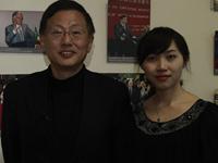 杨壮与网易财经编辑