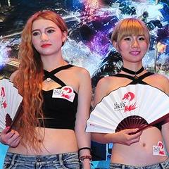 2014 ChinaJoy 空中网Showgirl