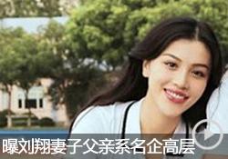 刘翔妻子遭起底 被曝整容其父系名企高层