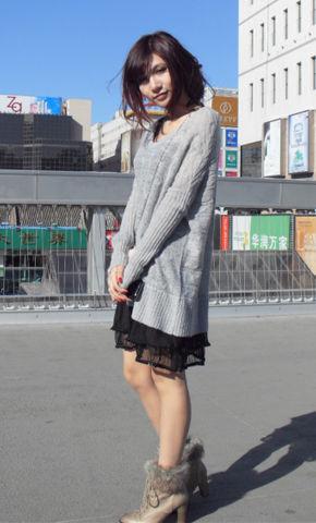 时尚活动《街拍人气王》韩式甜美风格搭配