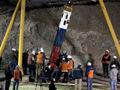 智利被困矿工升井现场
