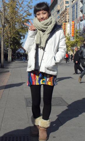 时尚活动《街拍人气王》欧美风格搭配