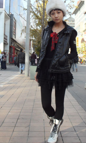 时尚活动《街拍人气王》混搭风格搭配