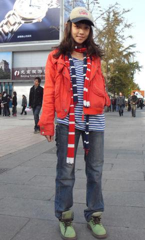 时尚活动《街拍人气王》休闲运动风格搭配