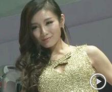 2012广州车展东风日产车模