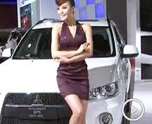 2012广州车展三菱车模