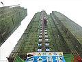 武汉工地电梯坠落