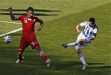第078球:梅西补时进球绝杀伊朗