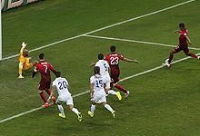 第091球:卡梅伦解围致纳尼进球