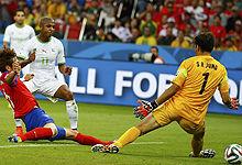 第089球:韩国门将遭穿裆戏耍