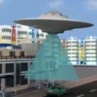 男子遇UFO神秘光柱