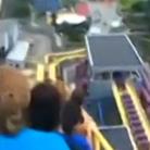 游乐园过山车俯冲时断电