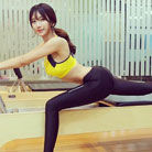 最美体育老师教体操