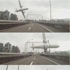 飞机坠河前击穿高架桥